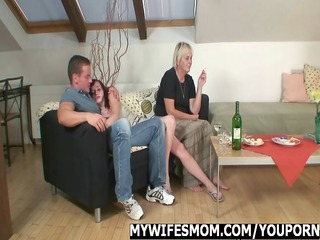 mother inside law seduces her daughters fucker