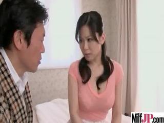 slutty japanese milf own pierced tough on camera