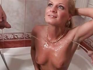 pissing