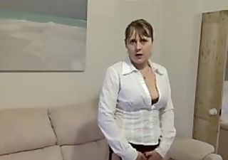 british milf gratified in darksome nylons amp