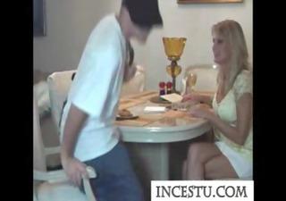 son bonks his mom after class at incestu.com