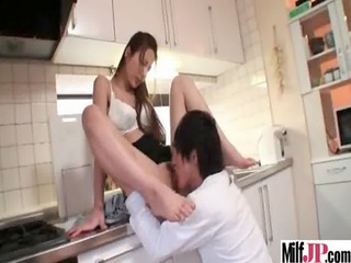 super sexy japanese woman obtain banged uneasy