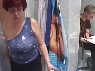 older  moms drill much fresher man inside shower