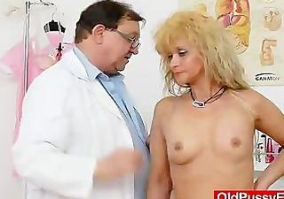 mama acquires a great gyno checkup