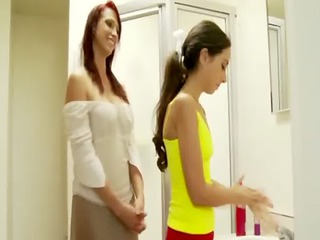 pure step lady hoe teaches her daughter