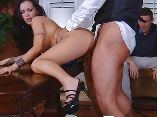 super hot woman cuckold with psychologist