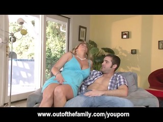 daughter watches her mom own anal drilled
