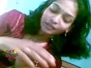 indian lady licking giving her male a blowjob