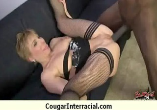 hot mature cougar rides black boy 711