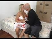 surprising albino grownup seducing her son\s