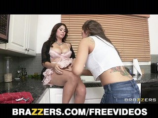 fuck starved wife is fucked uneasy  by her lesbo