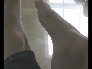 feet fetish with amazing mother id enjoy to gang