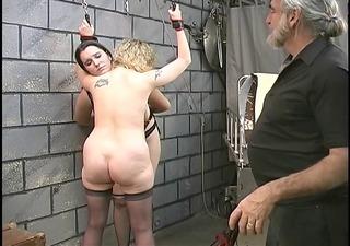 cute basement sadomasochism lesbians make out