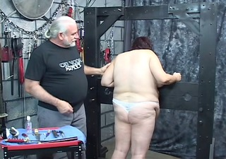 chap punishes perverted big beautiful woman in
