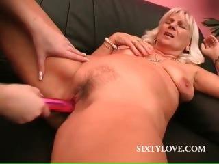 lesbo grownup takes orgasmic cave vibe