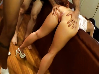 cuckold eating wifes facial