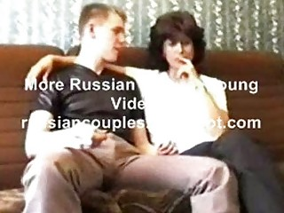 russian cougar milf amalia with her man